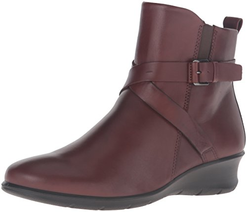 ECCO Felicia Ankle Buckle, Chaussure-Cheval Femme, Mink, 40.5/41 EU