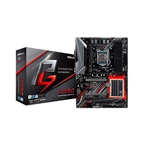 ASRock Z390 Phantom Gaming SLI Mainboard, Socket 1151, RGB-LED Motherboard, ATX, mattschwarz