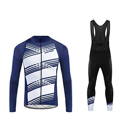 Uglyfrog Newest Designs Termico Invernale Body Uomini Sport all'Aria Aperta Usura Manica Lunga Magliette+Long Bib Pantaloni Ciclismo Maglia Bicicletta Bici Abbigliamento Bici Triathlon Wear