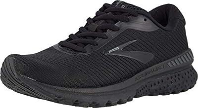 Brooks Women's Adrenaline Gts 20 Running Shoe, Black/Grey, 6.5 UK