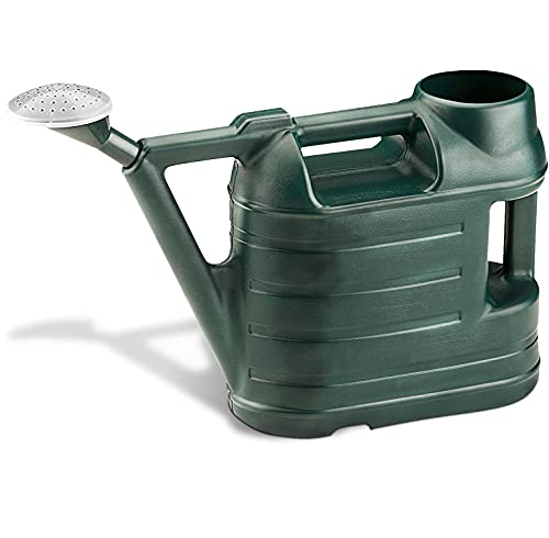 KEPLIN Watering Cans for the Garden, Strong Plastic, Rose Head, Indoors/Outdoors (6.5 Litre)