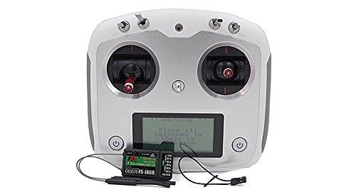 FlySky FS-i6S 10 Channel Transmitter and FS-iA6B 6 Channel 2.4GHz...