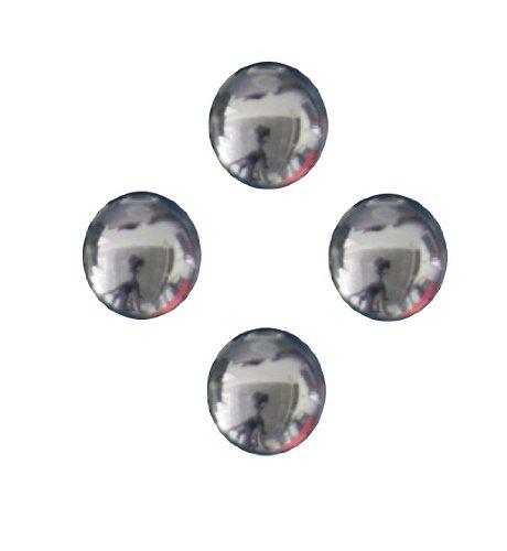 Car Logo Chrombuchstabe 3D-Optik für 26mm, 1 Stk. selbstklebend