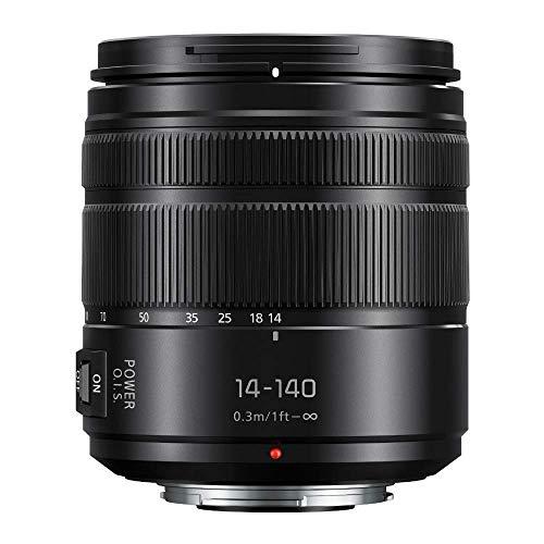 Panasonic Lumix G Vario 14-140mm Telephoto Zoom Lens with F3.5-5.6 II ASPH,...