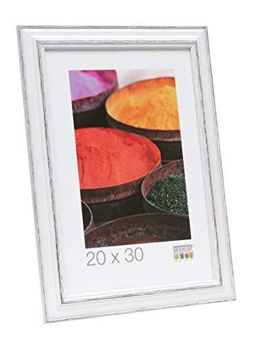 Deknudt S221H3_30.0x45.0 fotolijst, hout, 30 x 45 cm, wit