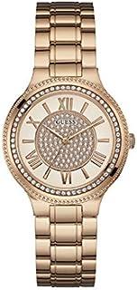 ساعة جيس كوارتز للنساء شاشة انالوج وبسوار من الستانلس ستيل W0637L3