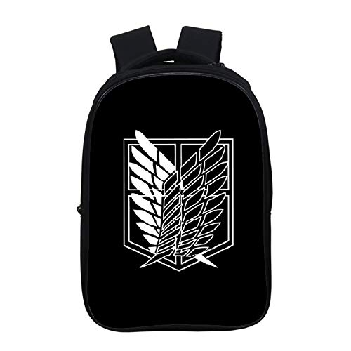 LHANZ School Bag Attacking Giant Backpack School Bag High Capacity Travel Bag 3d Printing Student Comic Movie Fans Gift Unisex