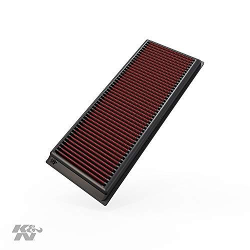 K&N 33-2865 Motorluftfilter: Hochleistung, Prämie, Abwaschbar, Ersatzfilter, Erhöhte Leistung, 2003-2019 (Beetle, Caddy IV, Passat, Jetta, Tiguan, Q3 Quattro, Alhambra, Yeti)