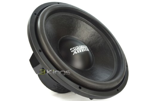 Sundown Audio SA-15 Rev.3 D4 15  750 Watts Dual 4-Ohm SA Series Subwoofer
