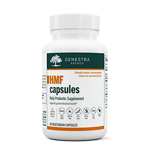 Genestra Brands - HMF Capsules - Probiotic Formula to Support Healthy Gut Flora - 60 Capsules