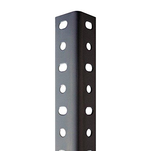Perfil Gris Estantería Para montaje con Tornillos (Tornillos no incluidos De Venta en nuestra tienda). 35 mm x 2000 mm. 8 Unidades