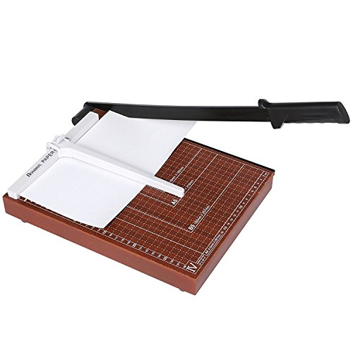 (US STOCK) Lantusi Professional Paper Trimmer, A4 Paper Cutter Guillotine for Home Office