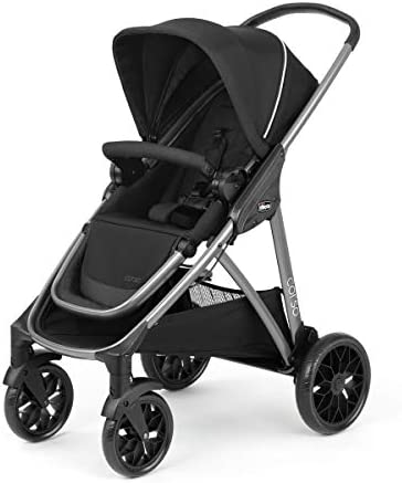 Chicco Corso Modular Quick Fold Stroller Black product image