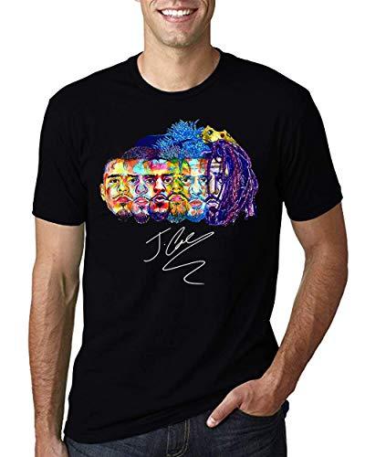 Evolution of J Cole Shirt (Black, 2XL)
