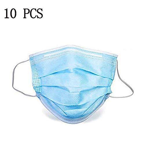 plunge 52 Einweg 3-Layer Outdoor Schutz Gesichtschutz mit Ohrringen Mundschutz Staubschutz Atemschutz