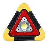 GW Luz de Trabajo LED portátil de reparación automática, resalte la luz de Advertencia de Emergencia Impermeable a Prueba de Golpes de 50W, luz de Advertencia multifunción giratoria de 180 Grados