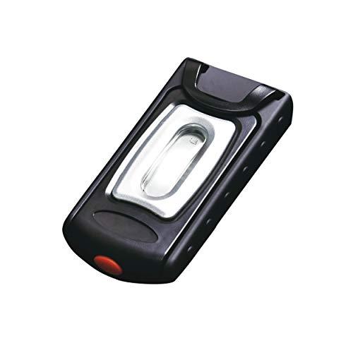 SBK TSL1002: Akku-LED-Taschenlampe, 250 Lumen, 3 h AKKU-Laufzeit, 360° drehbarer Haken, für den mobilen Einsatz