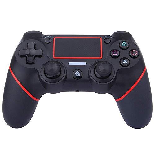 Mando PS4, Mando inalámbrico Gamepad para Playstation 4 / Pro/Slim con función de Audio, Vibración Dual, Joystick con Panel táctil de Alta precisión