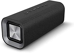 HAVIT Altoparlante Bluetooth Portatile, Cassa Bluetooth 4.2 Home Stereo Wireless da 10 W, 12-14 Ore di Riproduzione, Microfono Incorporato, Superficie in Tessuto, M16 Nero