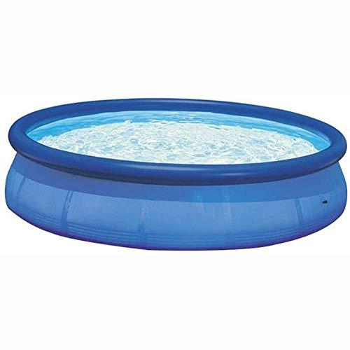 MROSW Familie Aufblasbares Kinderbecken Villa Pool 10 Feet Saucer Pool Runde Kinder aufblasbare Planschbecken