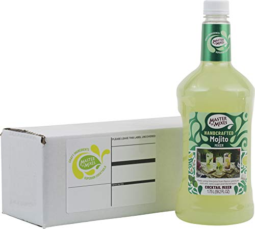 Master of Mixes Mojito Drink Mix, Ready To Use, 1.75 Liter Bottle (59.2 Fl Oz), Individually Boxed