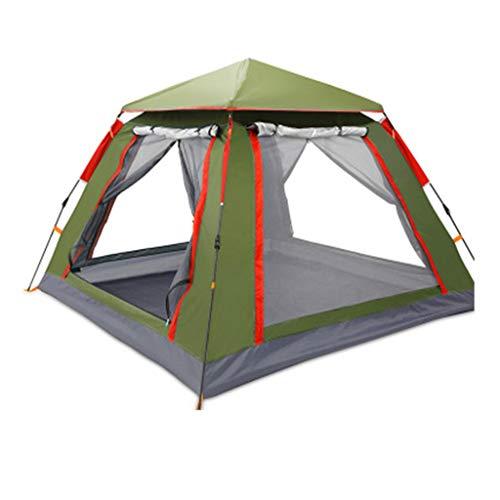 YaNanHome Im Zelt Zelt Zelt Verdickung Regen Zelt 3-4 Personen Zelt Zelt im Freien Zelt (Color : Red, Size : 215 * 215 * 142cm)