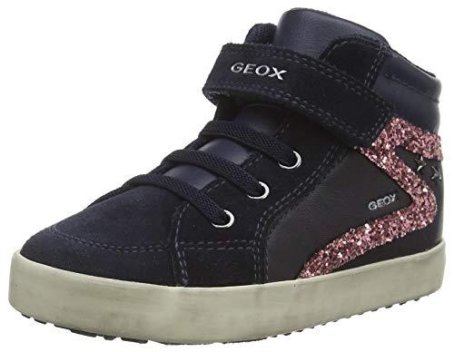 Geox B Kilwi Girl F Sneaker, (Dk Navy), 27 EU