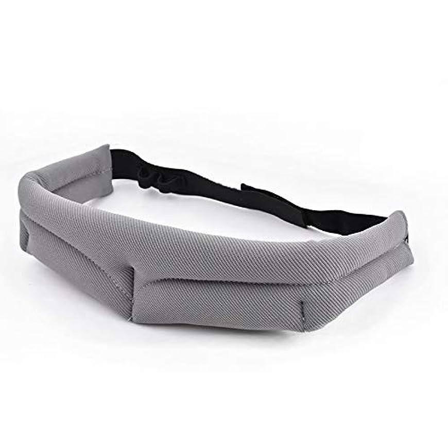レーザレーザさせるNOTE 男性女性3d睡眠マスク用旅行リラックス睡眠補助アイマスク目隠しカバー通気性調整可能包帯アイパッチ2色