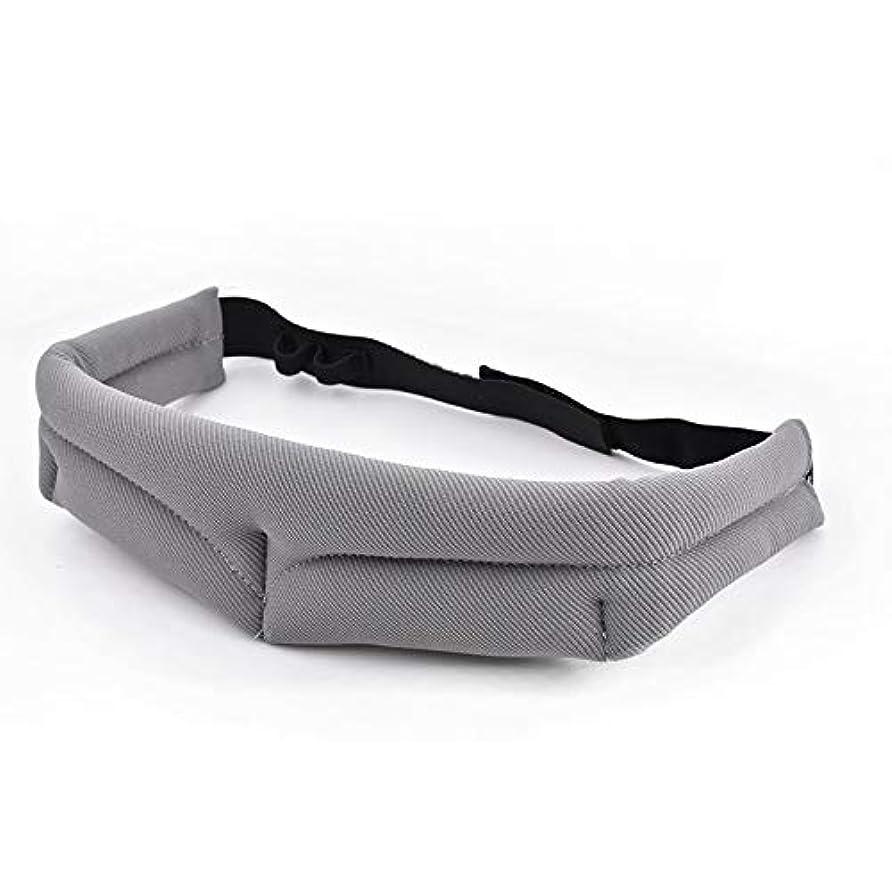 ライオンマイクロフォン扇動するNOTE 男性女性3d睡眠マスク用旅行リラックス睡眠補助アイマスク目隠しカバー通気性調整可能包帯アイパッチ2色