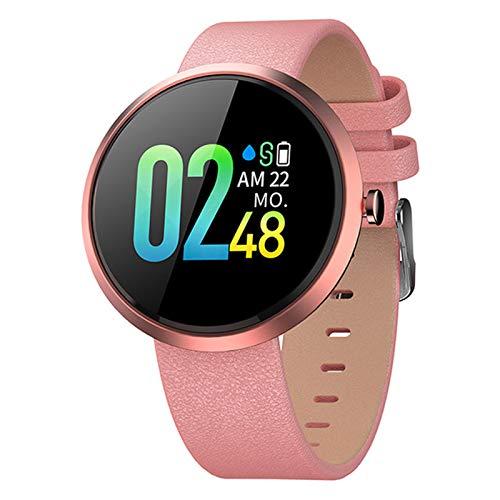 ZYDZ V06 Pro Bluetooth Smartwatch Tarifa Cardíaca Presión Arterial Reloj Smart Watch 1 Pulgada Salud Deportes Reloj Inteligente para Android iOS,G