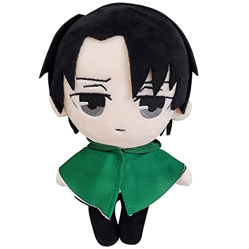 Attack on Titan Plush Toy EREN Plushies 8'/21cm Anime Cartoon Cute Stuffed Doll for Kids Gift,Home Room Decorations (EREN)