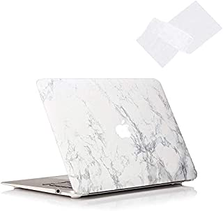 OneStop MacBook Air 13 inch Case With Keyboard Models A1369 & A1466 Older Version 2010-2017 Release Plastic Hard Shell Cas...