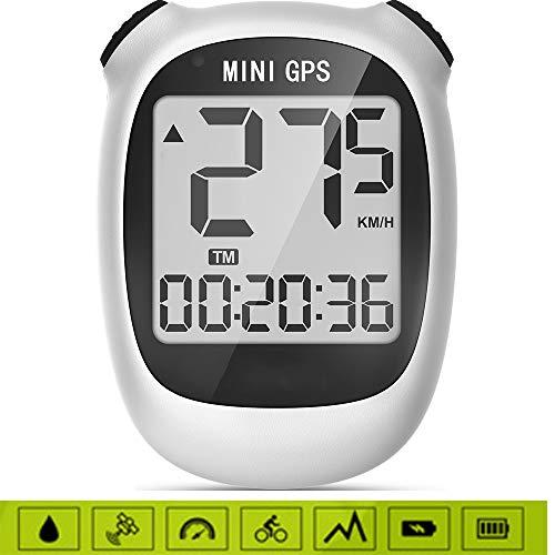 Thole Mini Ordinateur VéLo GPS M3 De sans Fil éTanche à La Pluie Compteur Vitesse KiloméTrique LCD Affichage ChronomèTre