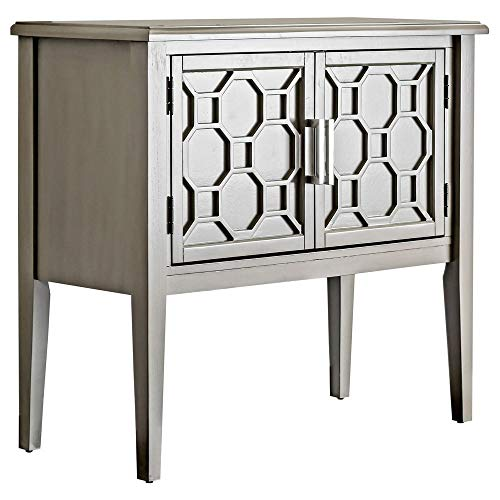 Furniture of America Adena Hallway Cabinet, Gray