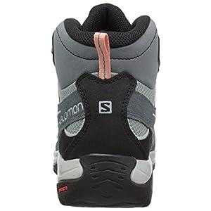 Salomon Women's Ellipse 2 MID LTR GTX Trail Running Shoe, lead, 7.5 M US