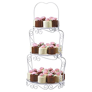 Wilton Graceful Tiers 3-Tier Cake Stand