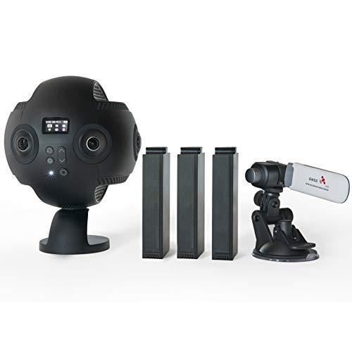 Insta360 Pro - Cámara de vídeo 360º Profesional, resolución 8K, Color Negro