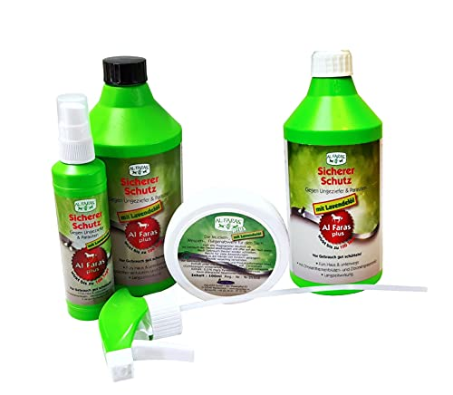 Aqua Clean AL FARAS Insektenschutz mit Lavendelöl und Chrysantemenblüten- extrakt 4tlg.