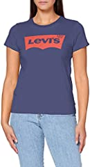 Levi's The tee Camiseta de Manga Corta Mujer, The Perfect New Split Box Tab