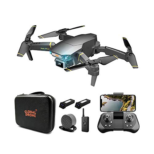 SLCE Drone con Camara 4K HD Drone con Camaras Profesional 120° De Ángulo Amplio, WiFi 100M Video En Vivo Drone Plegable, Modo Sin Cabeza, RC Quadcopter Giroscopio De 4 Ejes, para Los Principiantes