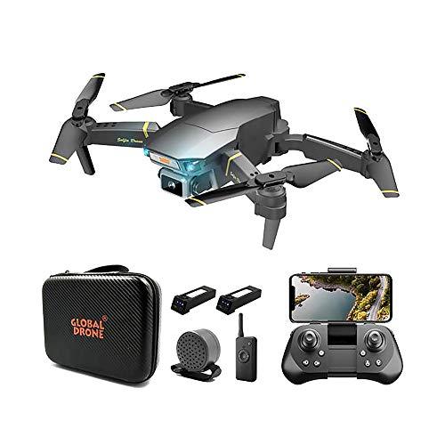 SLCE Drohne Mit 4K HD Kamera, WiFi 100M Live Übertragung, Quadrocopter Ferngesteuert Mit 120° Weitwinkel Kamera, Kopflos-Modus, Handy Steuerung, Intelligente Vermeidung Von Hindernissen Für Anfänger