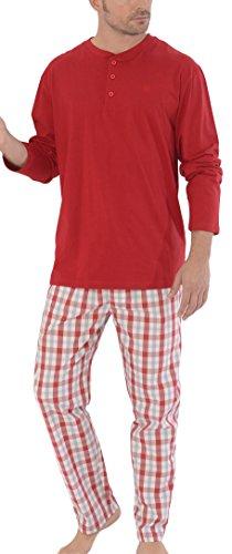 El Búho Nocturno Pijama de Caballero económico de Manga