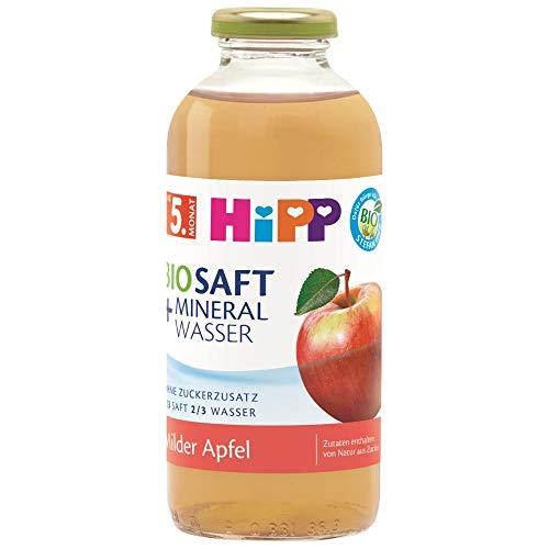 Hipp Bio-Saft + Mineralwasser Milder Apfel, 500 ml