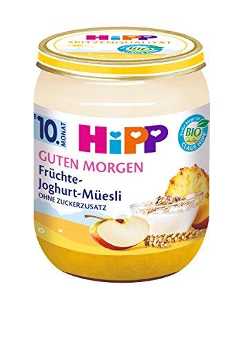 HiPP Früchte-Joghurt-Müesli, 6er Pack (6 x 160 g) - Bio