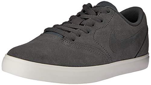Nike Sb Check Suede (gs) Skateboardschuhe, Mehrfarbig (Dark Grey/Dark Grey-Black-Summit White 002), 37.5 EU
