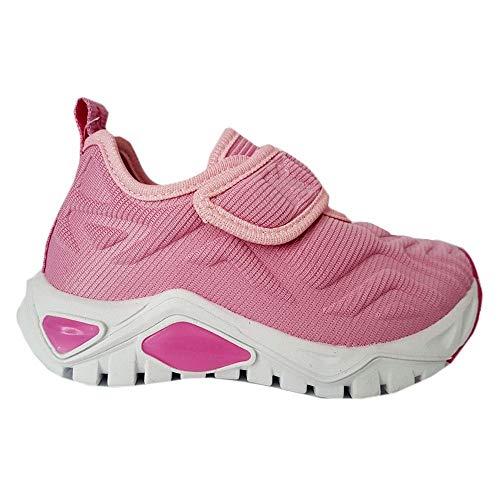 Tênis Infantil Menina Kidy Tec Gel Respitec Pink e Rosa-30