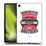 Head Case Designs Officially Licensed Supernatural Winchester Brothers 2 Vectors Soft Gel Case Compatible with Samsung Galaxy Tab S6 Lite