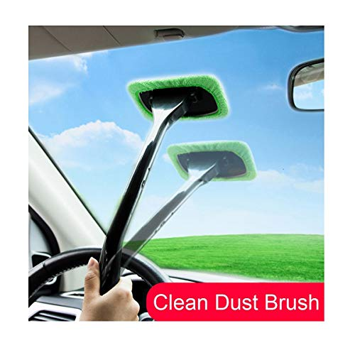 Review Of Car Cleaning Brush with Long Handle, Super Soft Car Window Dust Tool Mop with Soft Bristle...