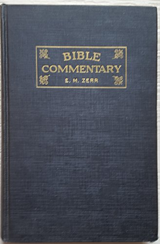 Bible Commentary Volume Four (Vol.4: Jeremiah - Malachi)