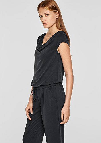 s.Oliver BLACK LABEL Damen Jumpsuit, Schwarz - 6